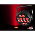 Chauvet SLIMPART12U Slim Par 12x 3-in-1 3W TRI LEDs with USB D-Fi Compatibility