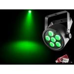 Chauvet SLIMPART6U Slim Par 6x 3-in-1 3W TRI LEDs with USB D-Fi Compatibility