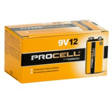 Procell BATPC9V12 by Duracell 9V Pack of 12 Batteries