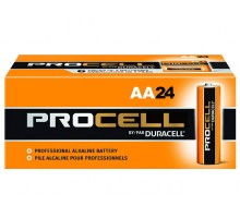 Procell BATPCAA24 by Duracell AA Pack of 24 Batteries