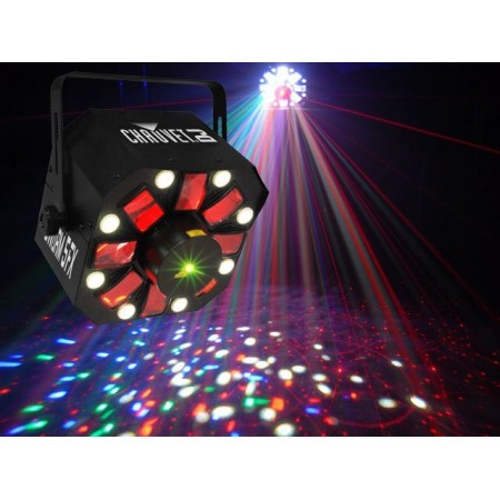 Chauvet SWARM5FX 3 in one moving beam, laser and strobe effect