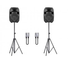 Wharfedale TITAN12DSSA Titan speaker and stand package package: 2 x titan12d, 2 x ssa, 2 x fcmcml10
