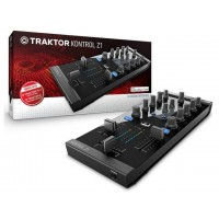 Native Instruments NI-KNTRLZ1 Traktor Kontrol Z1: mixing interface with 3-band EQ, built-in 24-bit soundcard with iPhone/iPad connectivity!