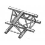 TT3CI Truss tri truss 290mm x 90deg 3 way Tee with apex up or down, 2mm thick with global compatible connection