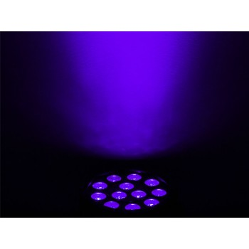 Light Emotion VIVIDUV Compact LED UV Wash with 12 x 3W UV LED, DMX.