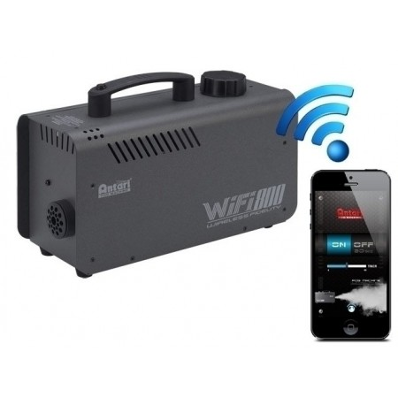 Antari WIFI800 Smart Phone Controlled 800W Fog Machine Wifi via Apps - Both IOS and Android.