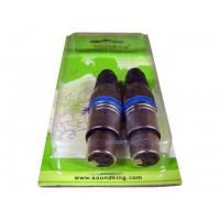 SoundKing XLR3FPH2 2 PACK XLR 3-F Line Plug - Heavy Duty