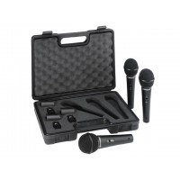 Behringer XM1800S Microphone - 3 pack