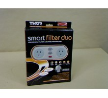 Condition: New - Smart duo universal filter surge protector 2 outlets with 1 metre extension cord  - Clearance Item