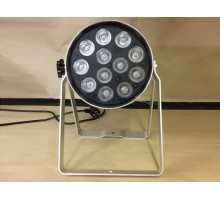 Condition: Ex Demo - Polished Par 64 Can with 18 x 5W RGBW 4 colour LEDs, double yoke, LED display for DMX  - Clearance Item