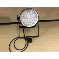 Condition: Second Hand - LED Par 64 RGB DMX 30W 183 LEDs - Black: Piggy Back Plug, double yoke, digital display - Clearance Item