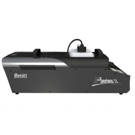 Antari Z-3000II Z-3000 II Pro Fog Generator, 3000w Heater. DMX capable up to 40,000 cu, ft/min and a 6 ltr tank warm up time 11.0min
