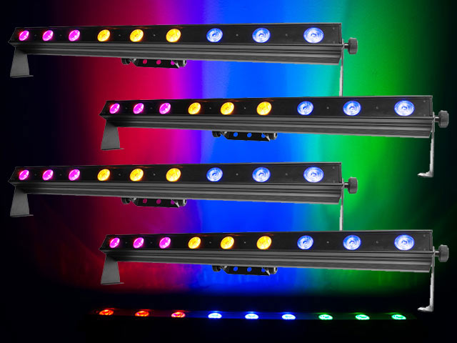 Gut bekannt Colorband Hex 9 -1m LED Bar with 9 x 10W 6-in-1 RGBWAUV LED and IY83