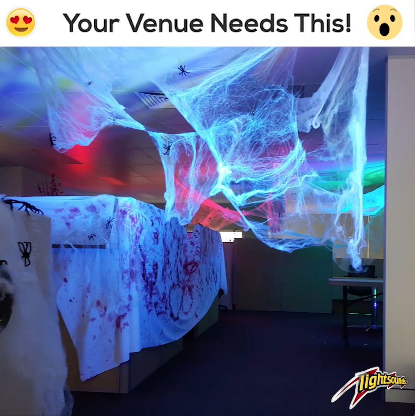 Halloween Venue Theming